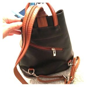Leather backpack 🎒
